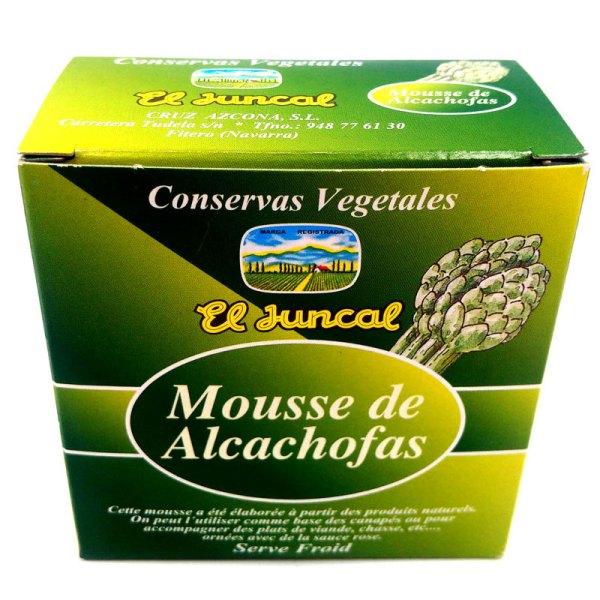 Mousse de alcachofas. Lata 135gr. El Juncal.
