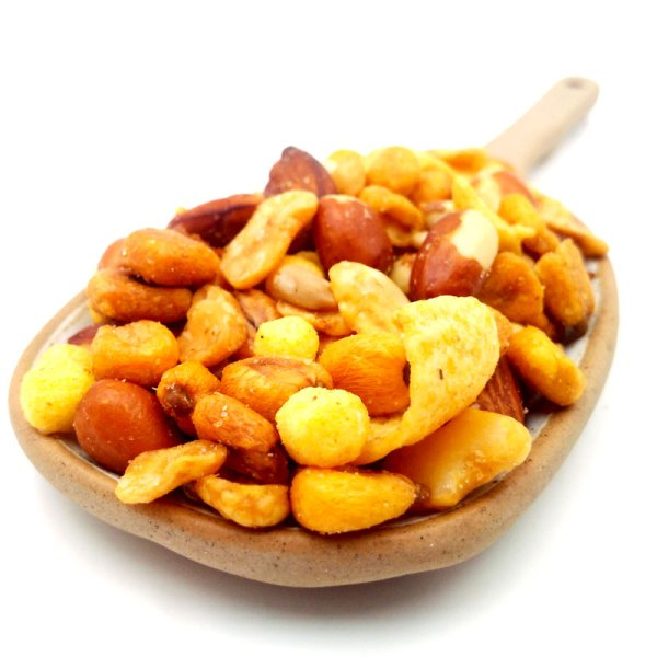 Mix revuelto barbacoa para snack