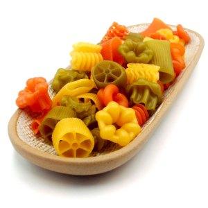 Pasta Fantasia mixta de trigo (Italia)