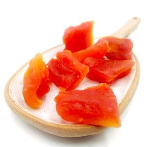 Papaya deshidratada sin azúcar añadido
