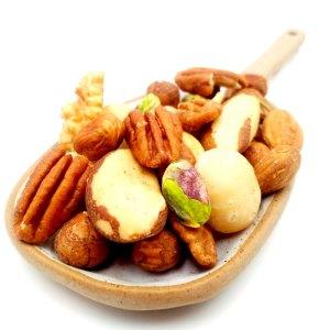 Mezcla frutos secos crudos