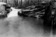 Moss Rock Preserve Waterfall