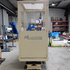 Cabine mobile AL Industrie