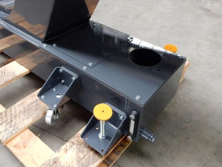 Bac de filtration huile convoyeur SOMAB Transmab 550