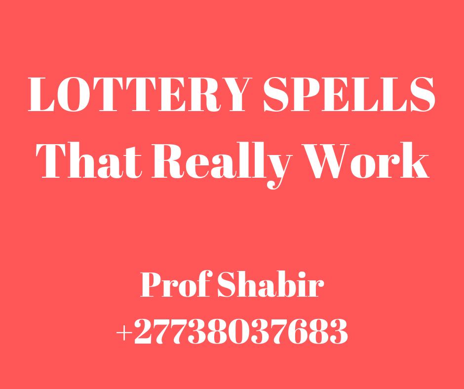Mega Millions Lottery Spells / Getting Rich Using Magic