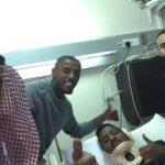 بالفيديو : أول ظهور للاعب سعود حمود بعد الحادث المروع