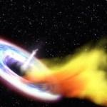 تلسكوب روسي يصور إطلاق حزمة من المادة من أكبر ثقب أسود