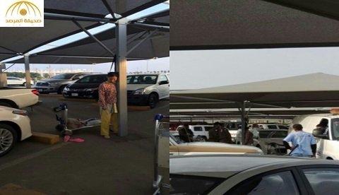 عاملة منزلية تنتحر في مواقف مطار الصالة الشمالية بجدة