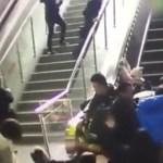 بالفيديو و الصور: سلم متحرك يعكس إتجاهه فجأة محدثا كارثة بالصين!