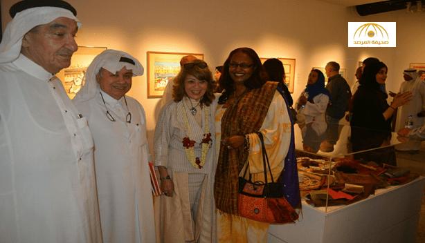 افتتاح معرض منيرة موصلي بجدة
