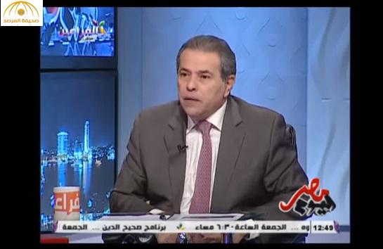 """توفيق عكاشة: """"السادات دخل أجدادي السجن لأنه كان عايز يتجوز عمة أمي""""… فيديو"""