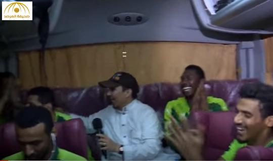 بالفيديو: احتفال لاعبو الأهلي بالدوري عقب نهاية مباراة الهلال