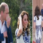 بالصور: الأمير ويليام تغلبه دموعه عندما رأى زوجته بموقف ذكرته بوالدته ديانا