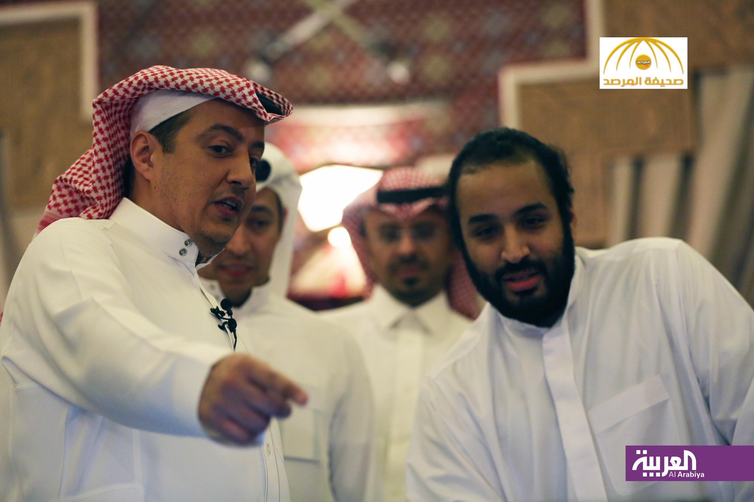 """تركي الدخيل يكشف ما وراء  """"كواليس """" اللقاء المثير مع الأمير محمد بن سلمان-صور"""