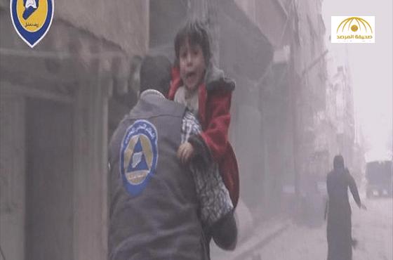 """بالفيديو: مجزرة  يرتكبها طيران الإرهابي  """"بشار الأسد""""على حلب ودوما"""