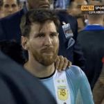 ميسي يعلن اعتزاله دوليا بعد خسارة نهائي كوبا أميركا ــ فيديو