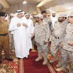 بالصور: أمير جازان يعايد الجنود المرابطين على الحدود ويزور مرضى  مستشفى الأمير محمد بن ناصر