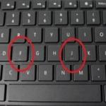 """ماهو السر وراء وجود خطّ تحت حرفي """"J"""" و""""F"""" في جميع لوحات مفاتيح الحواسيب!"""