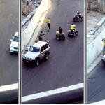 """الأمن يكشف تفاصيل جديدة حول اعتداء """"أفارقة الدبابات"""" على رجل المرور ويحدد هويات باقي المشاركين"""