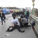 إطلاق نار أمام البرلمان البريطاني و إصابة 12 شخصا على الأقل – فيديو