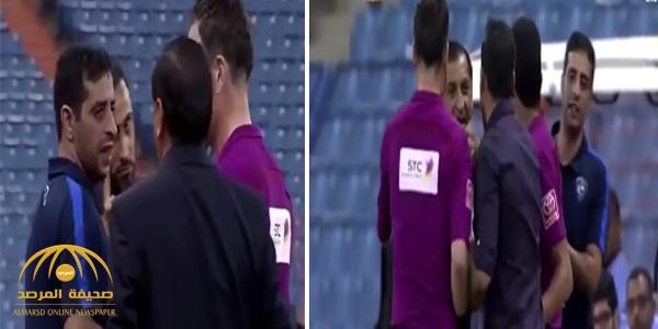 بالفيديو : مشادة كلامية بين دياز وسامي الجابر .. والأخير يحذره