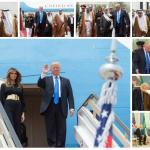"""شاهد: أبرز الصور التي نشرتها وكالة الأنباء السعودية لـ""""ضيف المملكة الكبير"""" الرئيس الأمريكي""""ترامب"""""""