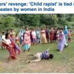 شاهد بالفيديو: كيف كان انتقام النساء من رجل اعتدى جنسيا على طفل بالهند؟