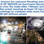 """شاهد حجم الدمار الذي خلفه الإعصار""""هارفي""""-صور"""