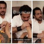 ممثلة إيرانية تُثير الجدل بصور زوجها الكويتي وهو يُقبّل قدميها ! – صور