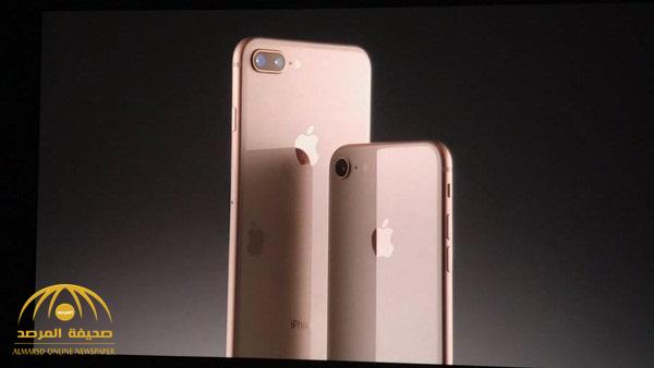 بالصور و الفيديو : آبل تطلق آيفون 8 وآيفون 8 بلس .. تعرف على مواصفاته وسعره