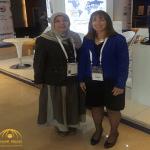 """السعودية """"ريما البدر"""" تعلق على مؤتمر أمراض القلب في دبي .. وهذا ما قالته عن طبيبة أمريكية!"""