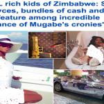 شاهد .. ثروات أبناء موجابي زيمبابوي: سيارات فارهة وطائرات خاصة في بلد يعاني سكانه 70 % من الفقر