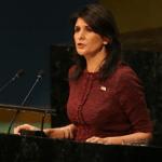 بالفيديو .. المندوبة الأمريكية في الأمم المتحدة: أركل بحذائي كل ما أراه خاطئا !