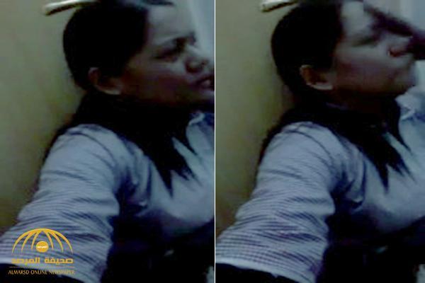 شاهد .. فيديو جديد يكشف بداية النقاش الذي دار بين زوجة المتحرش المصري و الخادمة وهي تبكي خلف باب غرفتها