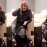 """بالفيديو : الشاعر القطري """"ابن الذيب"""" يترضى عن حليمة بولند!"""