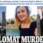 """مقتل """"دبلوماسية بريطانية"""" فى بيروت بعد تعرضها للاغتصاب والخنق"""