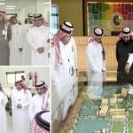 مدير (مدن) يزور أكاديمية دهانات الجزيرة ويشيد بحرصها على رفع مستوى خبرة الشباب السعوديين