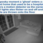 لحظات مرعبة.. شاهد: كاميرات المراقبة توثق معيشة أشباح داخل شقة سكنية!