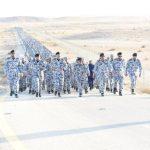 ما سر خروج مئات الضباط والأفراد العسكريين خارج أسوار  كلية الملك فهد الأمنية ؟-صور