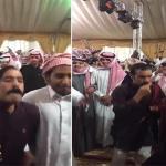 """شاهد.. رقص على أنغام الشيلات ومشط """"الشوارب"""" في مهرجان مزايين الإبل"""