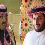 """تركي آل الشيخ لـ """"متعب بن عبدالله"""" : لا نستغني عن توجيهك ودعمك !"""