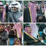 بالفيديو و الصور: الملك سلمان يرعى حفل العرضة السعودية ضمن فعاليات الجنادرية