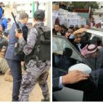 بالصور و الفيديو .. تعرض سفير قطر لهجوم فى غزة