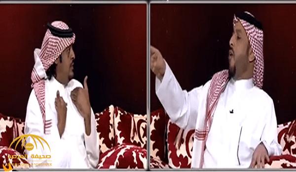 بالفيديو.. مشاجرة  وشتائم بين ضيفين على قناة السعودية الرياضية.. أحدهما للآخر: أنت عايش في الشوارع