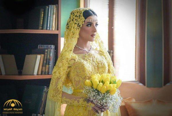 من خلال 4 إطلالات ساحرة.. شاهد : عروس أندونيسية  بملامح عربية تجذب مواقع التواصل