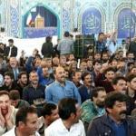 بالفيديو .. مزارعون إيرانيون يديرون ظهورهم لخطيب صلاة الجمعة في أصفهان !