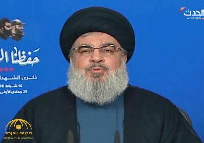 """حسن نصرالله : """"مكانة ولاية الفقيه فوق الدستور اللبناني وتنفيذ أوامره واجب إجباري""""-فيديو"""