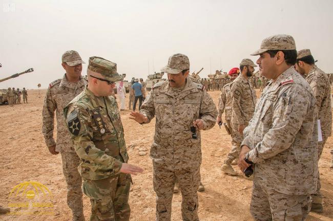 شاهد بدء انطلاق المناورات المشتركة بين القوات البرية السعودية والجيش الأمريكي