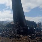 شاهد.. لحظة تحطم الطائرة الجزائرية ووفاة 257 راكبًا
