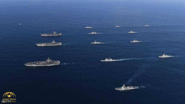 البحرية الأميركية تستعرض قوتها  بـ355 سفينة